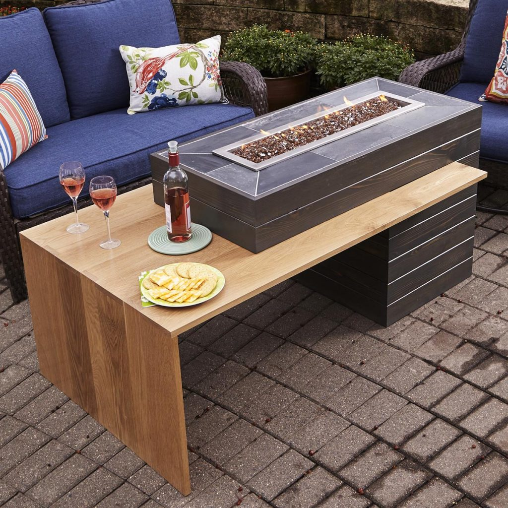 Gas Fire Pit Table Diy