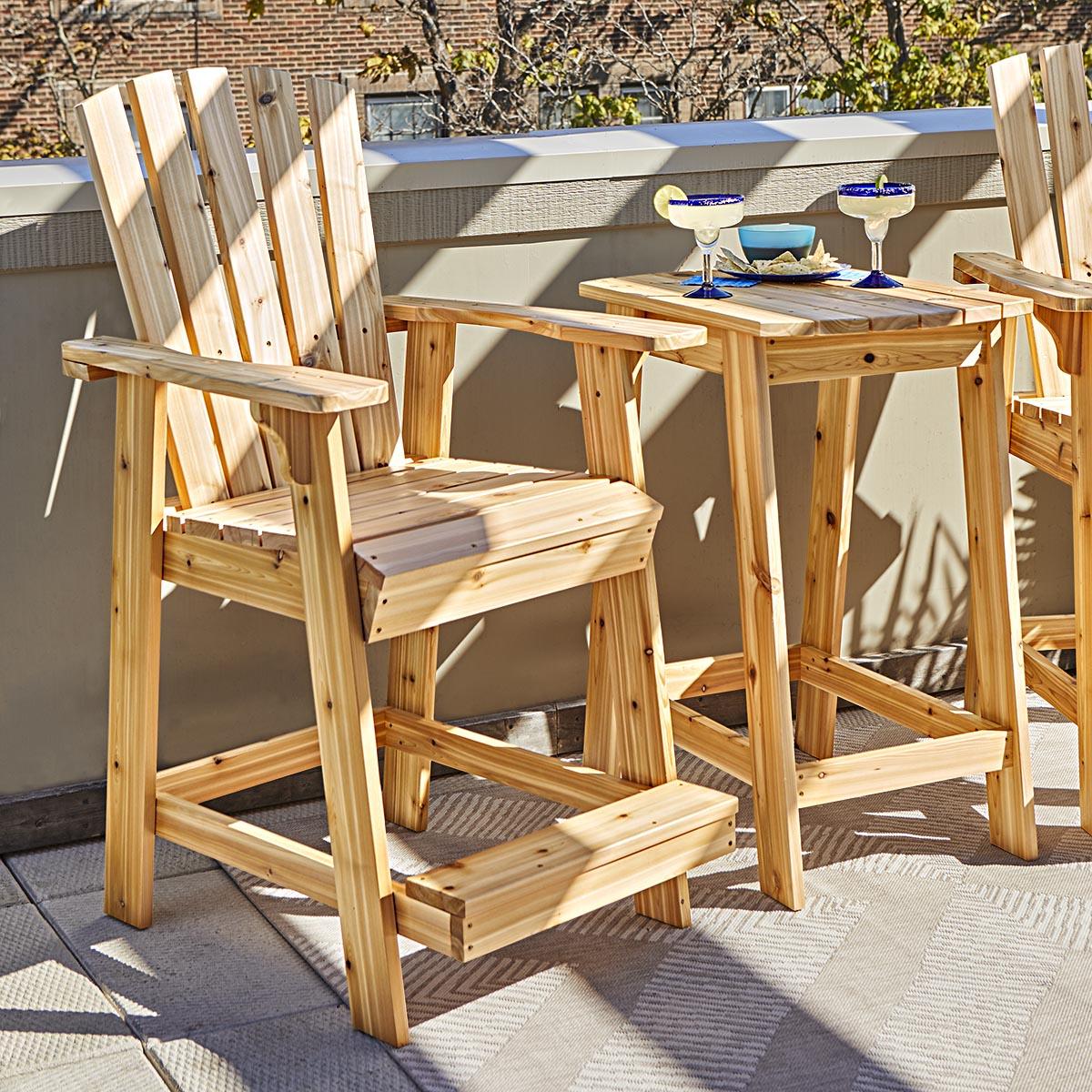 High Style Adirondack Chair Pair Spruc D Market
