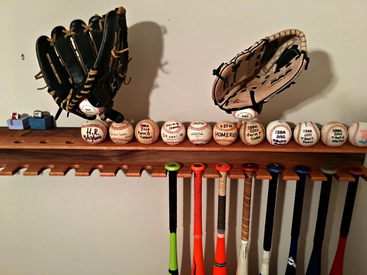 Baseball Bat Display Rack Spruc D Market