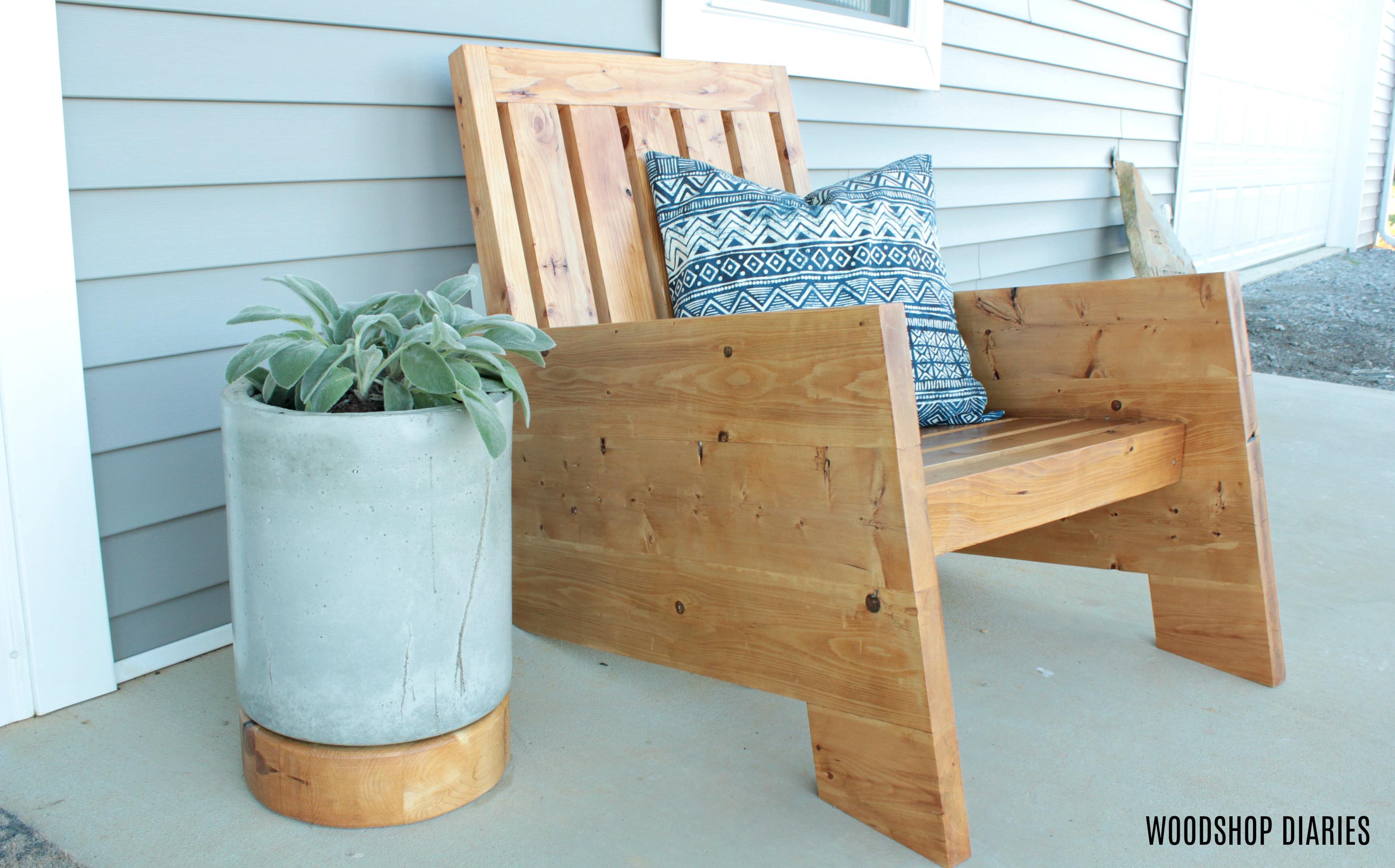 Diy Modern Outdoor Chair Spruc D Market