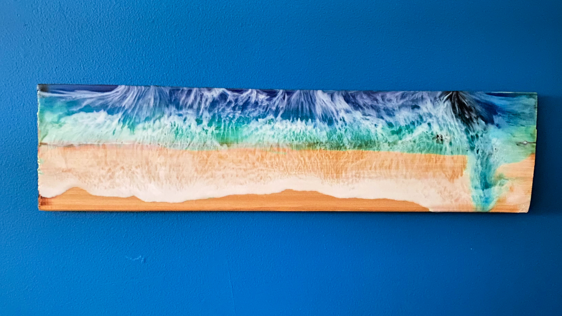 DIY Wood and Resin Ocean Art - Spruc*d Market